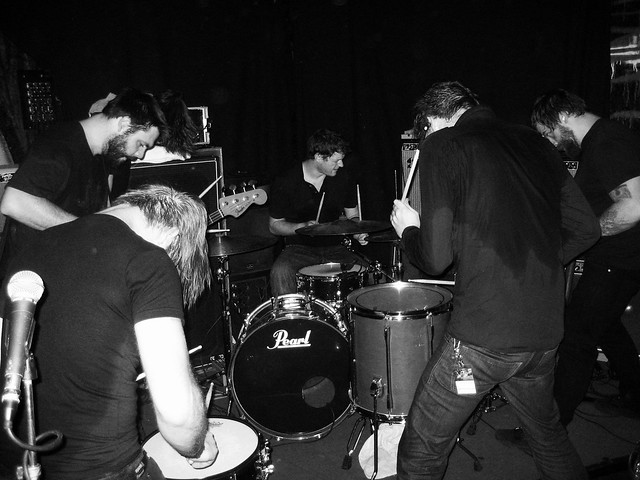 Caspian @ Elfer Music Club, Frankfurt