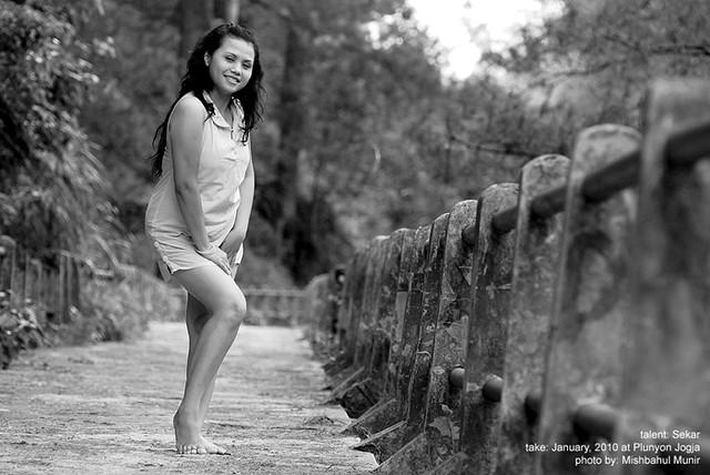 Foto Model Seksi | Sexy Model Photography BW #4