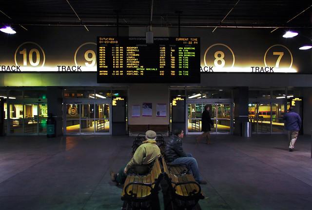 the new North Station, Boston (2010)
