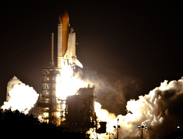 STS-130, Penultimate Night Launch