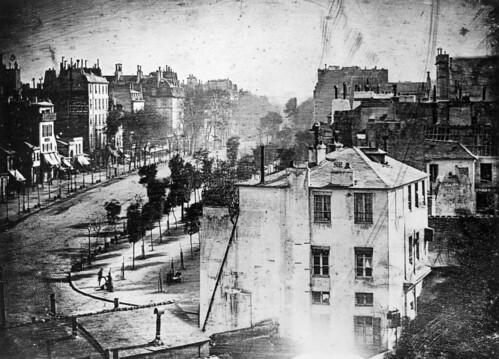 """Daguerre, """"Boulevard du Temple"""""""