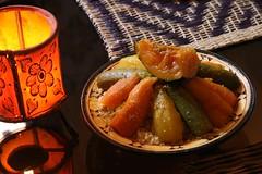 Couscous de legumes marroquino