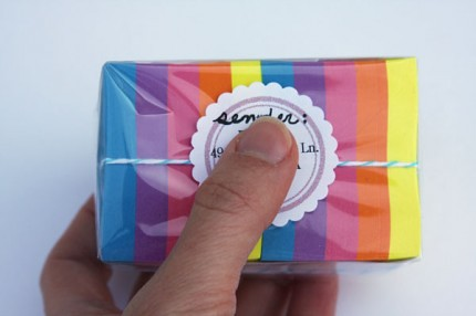 sticky notes by airmail