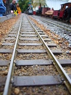 Rails, scaled