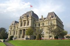 Palais de Justice - Tribunal Cantonal, Montbenon, Lausanne