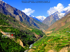 HIMALAYAS in Unforgettable Himachal by HCV Kullu ALL by SDB Fine Art Travel of 2 Decades to 555+ Places Ph