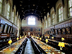Hall of Christ Church, a.k.a. Hogwarts dining hall