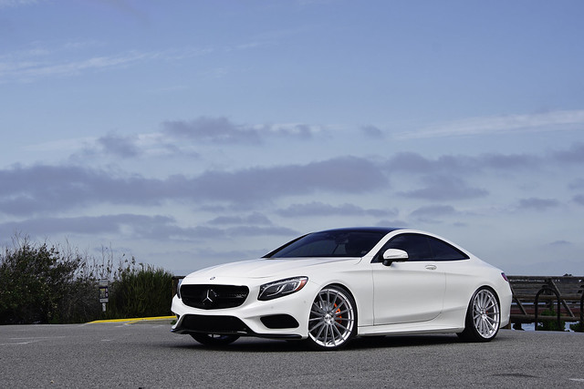 Mercedes Benz S550 coupe on Mandrus Stirling
