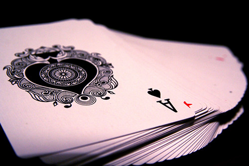Ace of Spades Card Deck Trick Magic Macro 10-19-09 2