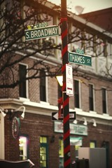 meet me on thames street, i'll take you out though i'm hardly worth your time.