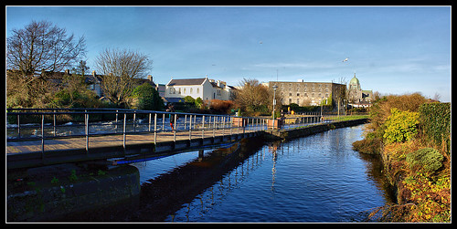 Galway canal view