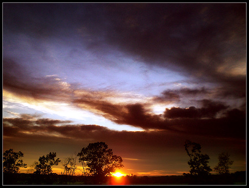 africa morning blue sunset sky brown sahara clouds sunrise dark evening early skies adventure late