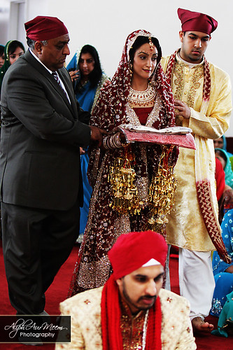 Sikh Wedding Photography | Gurdwara - AliphAurMeem Photography
