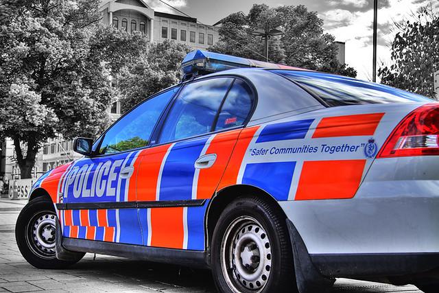 Police Car HDR