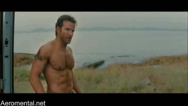 A-Team movie Naked Chest scene