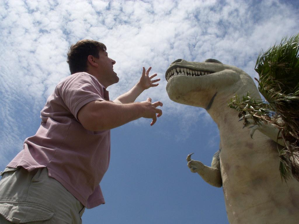 JD Hancock vs. Tyrannosaurus Rex