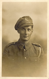WWI Gunner Francis Edward Alban Eldridge of the Royal Field Artillery