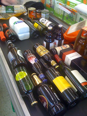 Asda beer and wine trip.