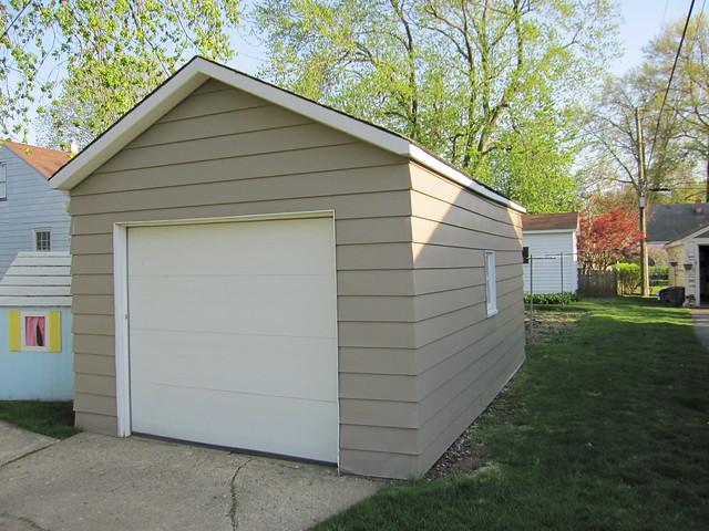 Single car detached garage flickr photo sharing for Single car detached garage