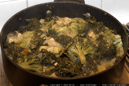 ugly, but good   tofu, broccoli & tumeric curry