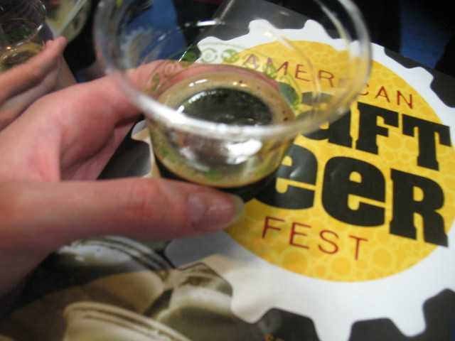 2 oz at the American Craft Beer Festival