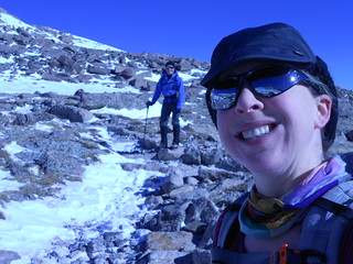 Clare and Slava Above Granite Pass
