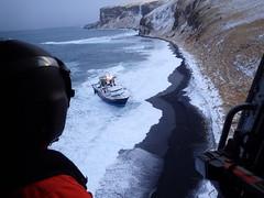 Coast Guard rescues fishermen