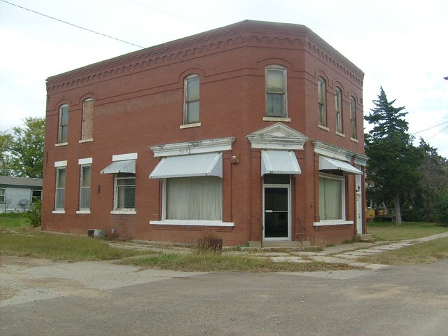 Old Falun State Bank At Falun Kansas Flickr Photo Sharing