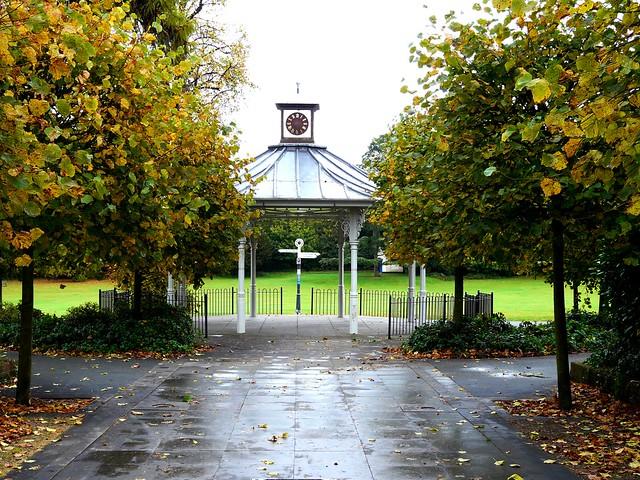 Bandstand War Memorial Park Basingstoke Hampshire