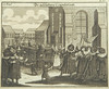 After the wedding ceremony, 1724, from Juedisches Ceremoniel by Center for Jewish History, NYC