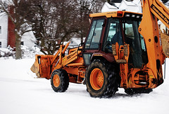 vehicle, snow, snow removal, snowplow, construction equipment, bulldozer,