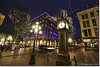 Gastown, Vancouver at Night