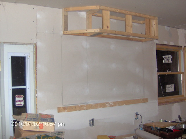 how to build a kitchen soffit