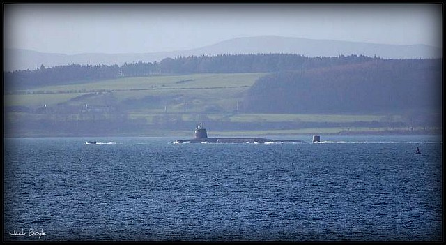 Submarine on the Clyde !!
