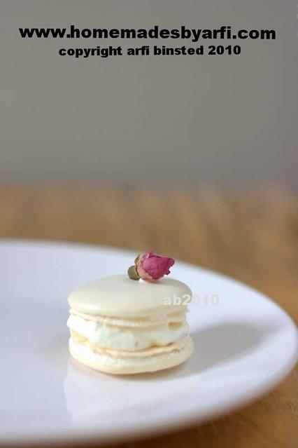 Rosewater Macaron