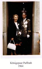 1964, Königspaar Luise und Gerd Paffrath, SW096