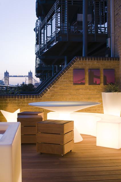 The Funky Roof Terrace Garden By Earth Designs Www Earthd Flickr