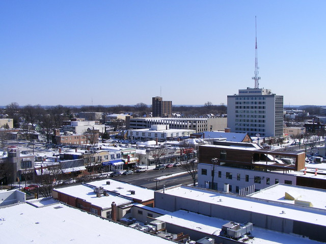 Looking SE (Georgia at Ripley)