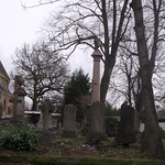 St Mary the Virgin - The Parish Church of Acocks Green - Gravestones and a column topped by an urn