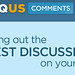 Disqus Logo and Tagline