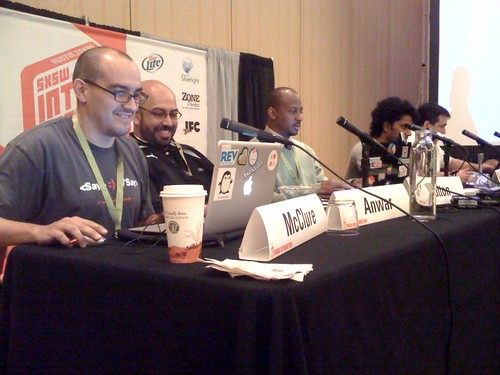 Here's @waynesutton on Community Innovations Panel