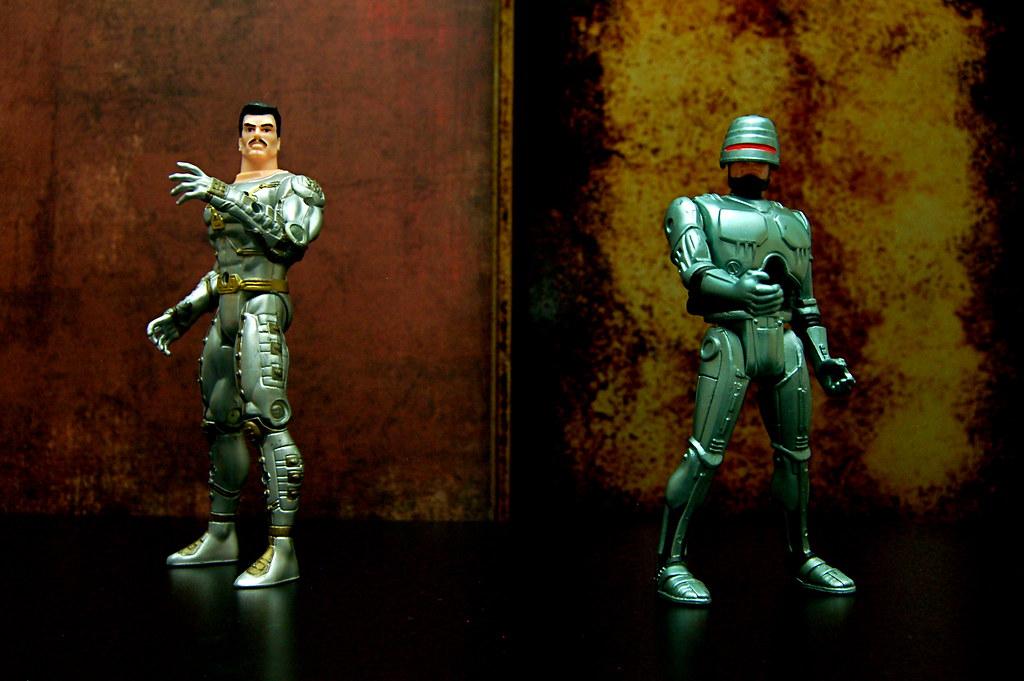 Tony Stark vs. Robocop (77/365)