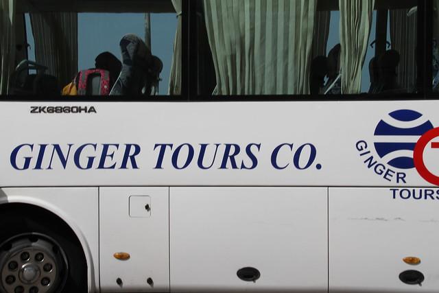 Ginger Tour Company bus, Alexandria