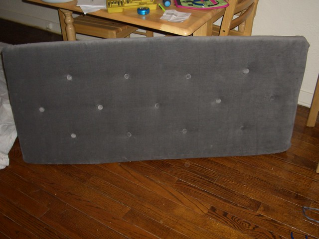 flush mount headboard