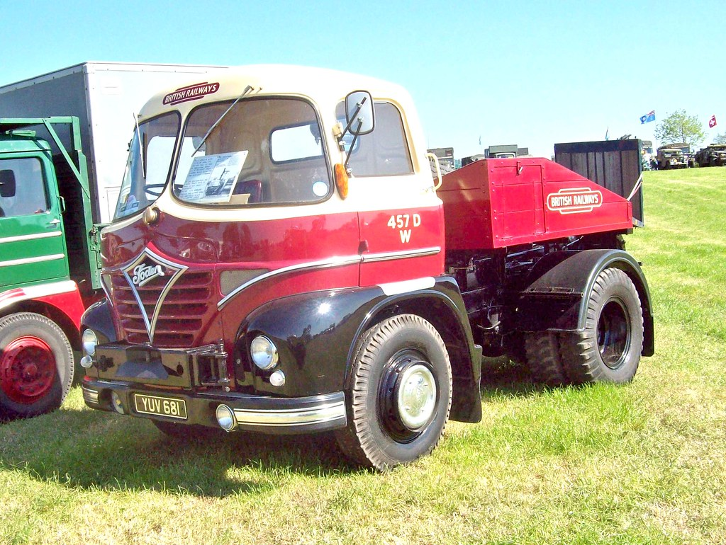 57 Foden S21 Tractor (BRS) (1962)   | Foden S21 Tractor Unit