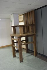 'Chair' by Corbin Walker in the main UCD restaurant.