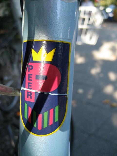 """Peer"" Manufacturer's Badge"