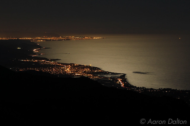 Carpenteria to Ventura at Night