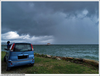 Hujan @ Teluk Sepanggar