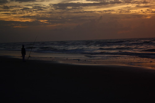 sunrise nc fisherman northcarolina northtopsailbeach onslowcounty